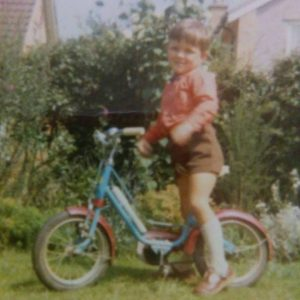 young db on a bike